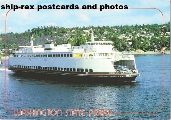 ISSAQUAH (Washington State Ferries) postcard (b)